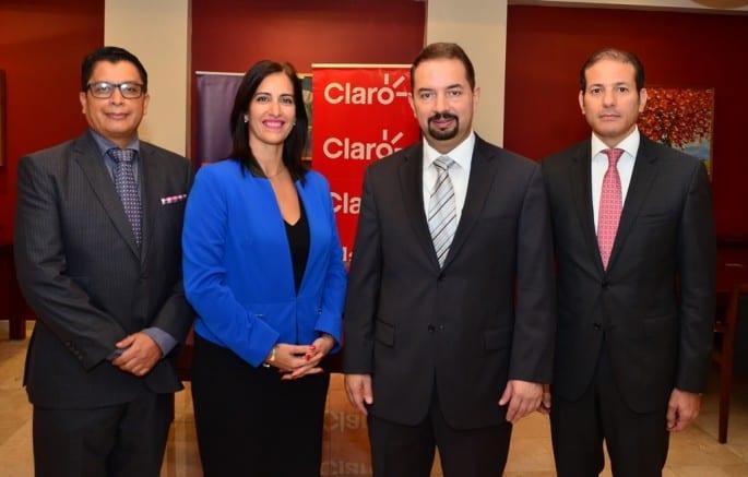 Jorge Cabeza, Ana Patricia Mejía, Oscar Peña y Carlos Cueto./elDinero