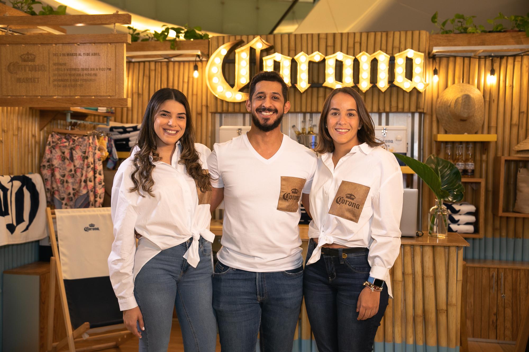 Paola Mancebo, Guillermo Escobar, y Lorén Medrano.