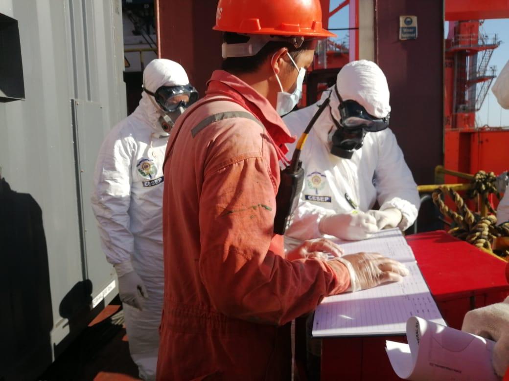 Operaciones en puertos tras medidas contra covid-19
