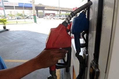 Los precios de los combustibles continuarán igual que en esta semana.