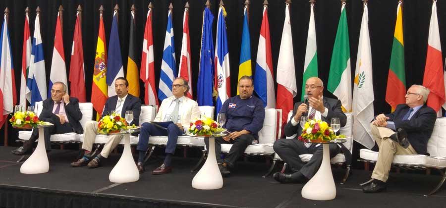 El presidente de la Eurocámara de Comercio de la República Dominicana Hans Witsenboer