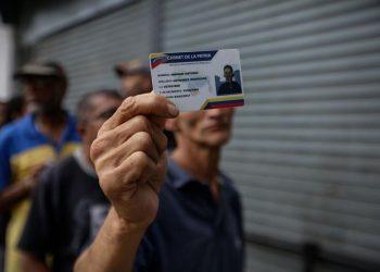 Venezuela carnet de la patria, bonos