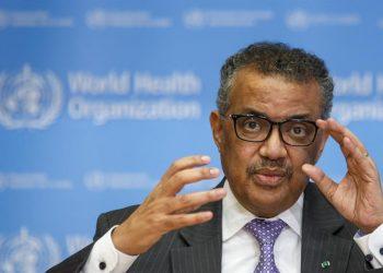 El director general de la OMS, Tedros