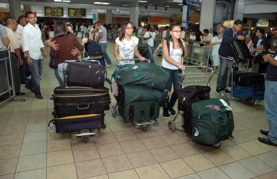 aeropuerto viajeros