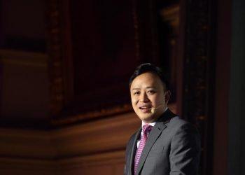 El representante de Huawei ante la Unión Europea, Abraham Liu. | Fuente externa.