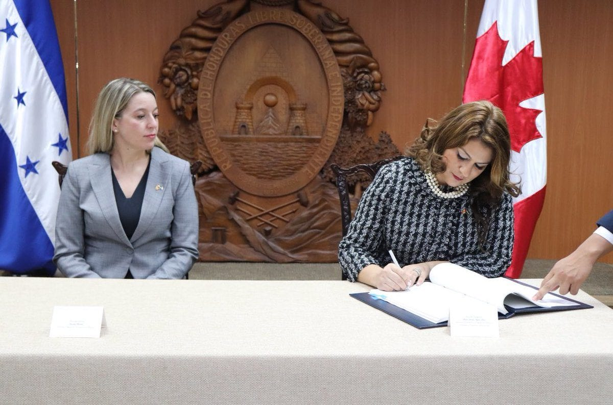 acuerdo honduras canadá