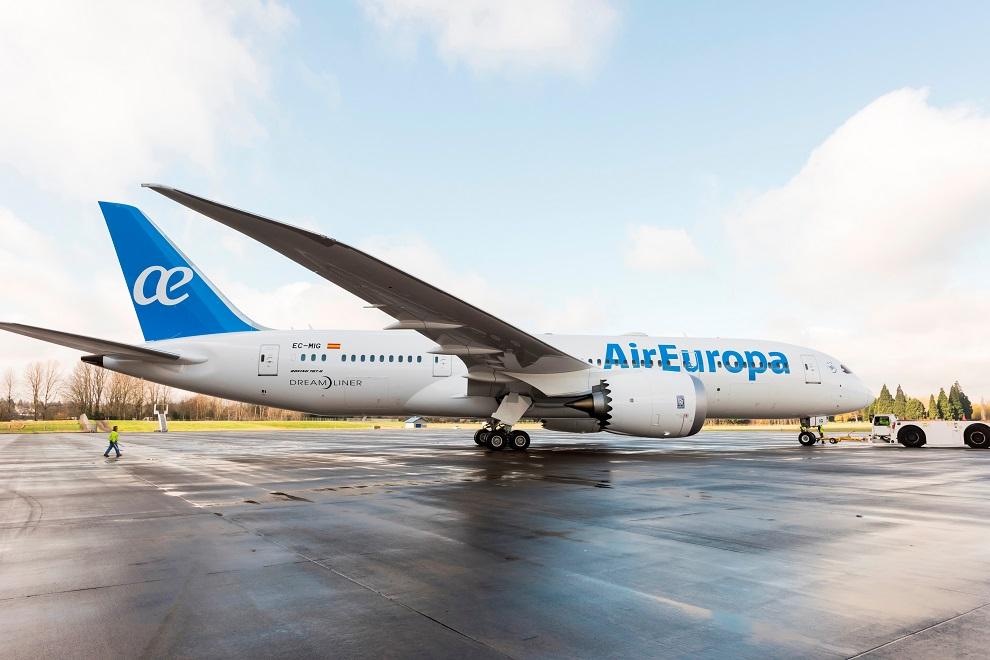 air europa b787 b