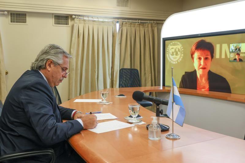 FMI | Alberto Fernández habló con Kristalina Georgieva: fue una
