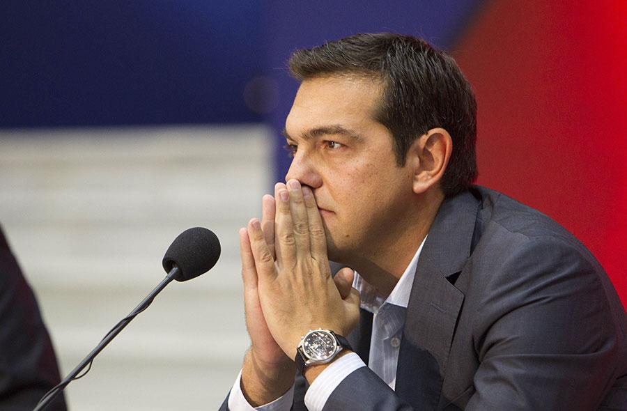 Alexis Tsipras, primer ministro griego. | Fuente externa