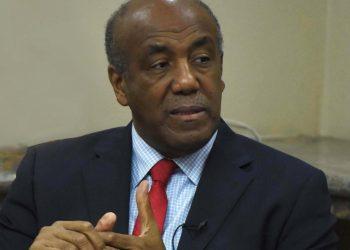 El ministro de Energía y Minas, Antonio Almonte.