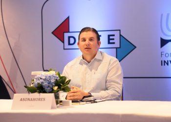 Andrés Marranzini Grullón, vicepresidente ejecutivo de Asonahores.