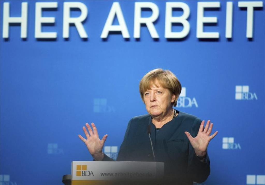 La canciller alemana, Angela Merkel./Fuente externa