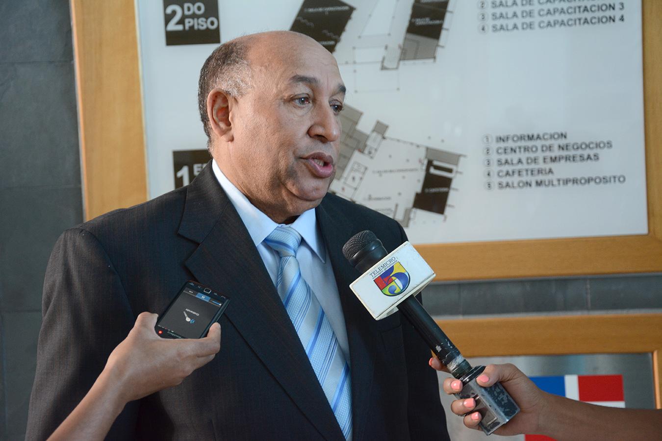 Antonio Cruz Rojas, presidente del Conacerd./ Gabriel Alcántara