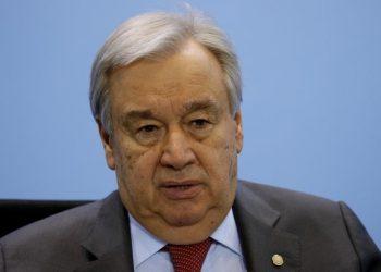 El secretario general de la ONU, António Guterres. | Omer Messinger, EFE.