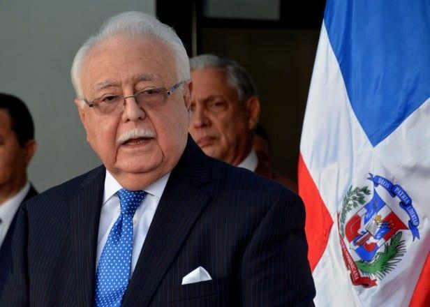Antonio Isa Conde, ministro de Energía y Minas.