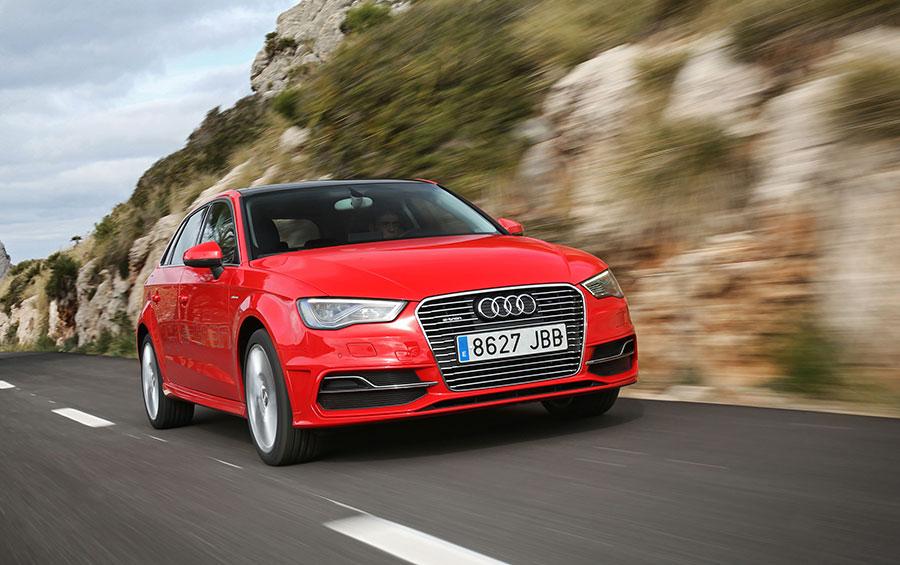 El Audi Sportback e-tron, estandarte del grupo Volkswagen. | EFE