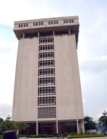 banco central vertical