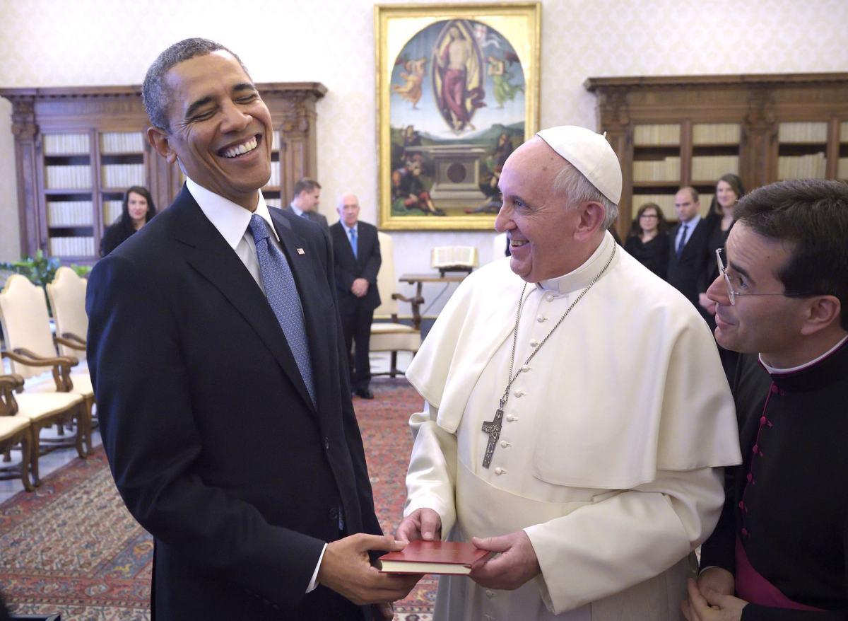 Barack Obama y el Papa Francisco, en uno de los encuentros que han tenido. El máximo líder católico visitará Estados Unidos próximamente.