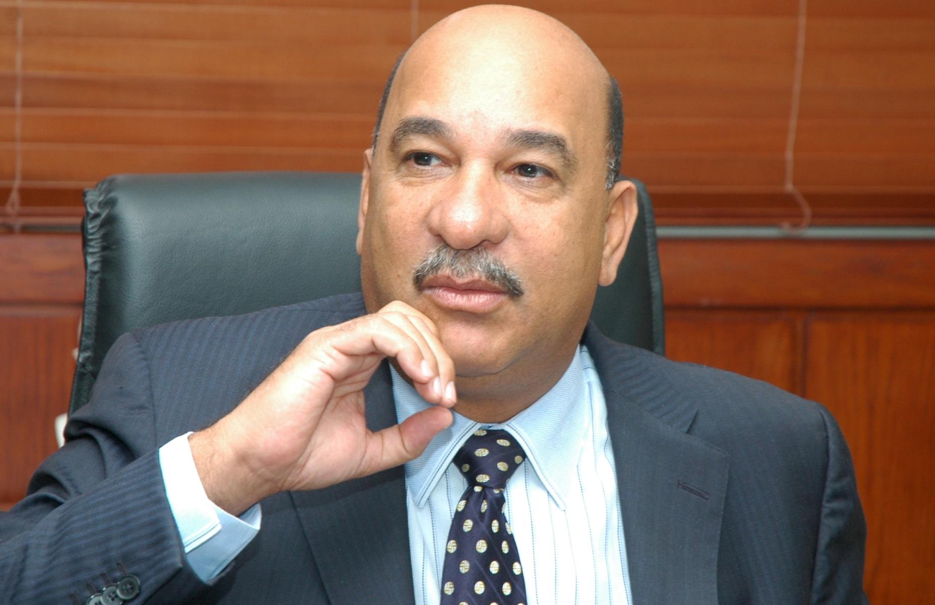 Bautista Rojas Gómez, ministro de Medio Ambiente y Recursos Naturales.