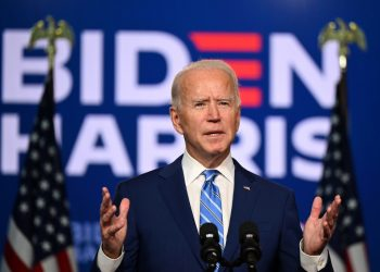 El presidente electo de Estados Unidos, Joe Biden. | Jim Watson, AFP via Getty Images.