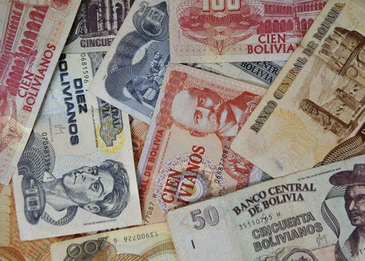 Bolivianos moneda dinero Bolivia
