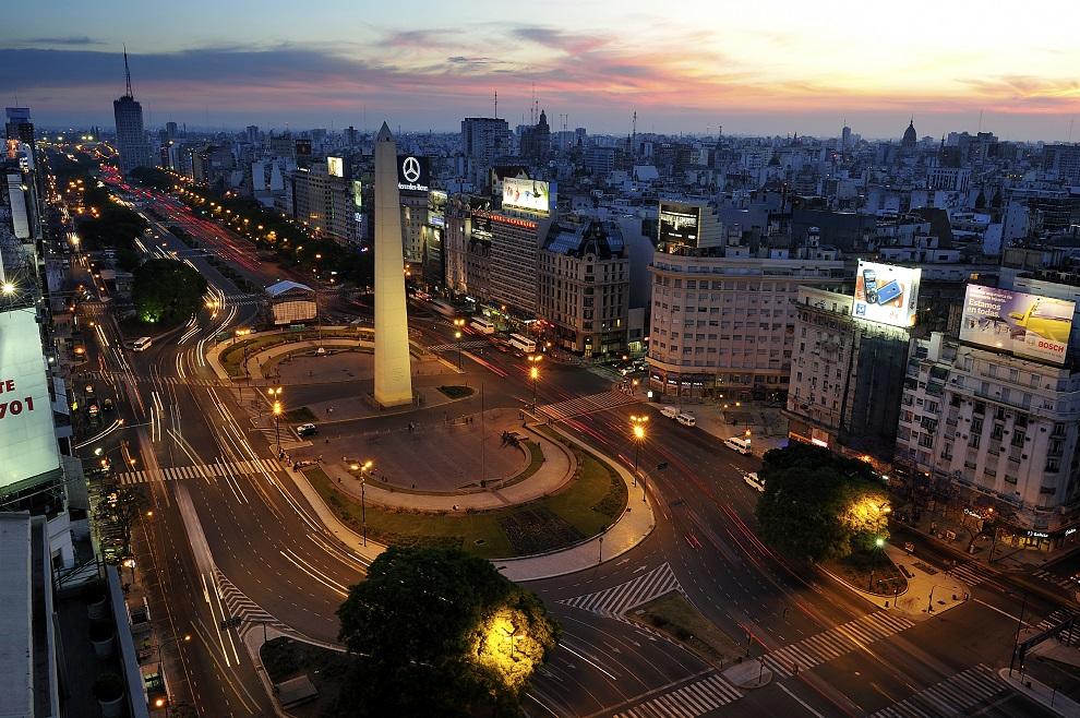 buenos aires, argentina, november. 20. 2010: obelisco de bueno