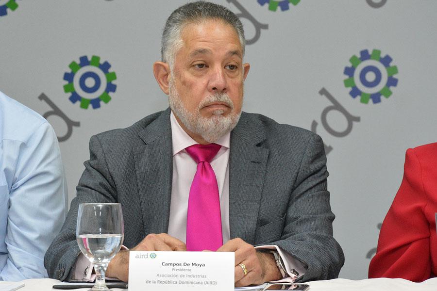 Campos de Moya, presidente de la Asociación de Industrias (AIRD).