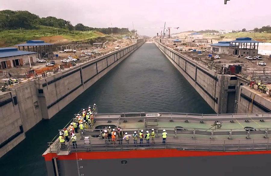 canal ampliado panama ley de puertos