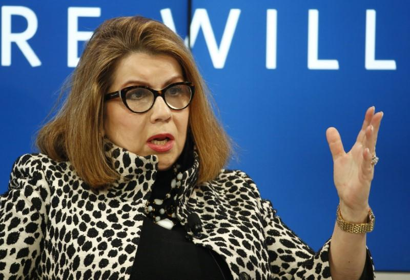 Carmen Reinhart, titular del Banco Mundial. | Ruben Sprich, Reuters.