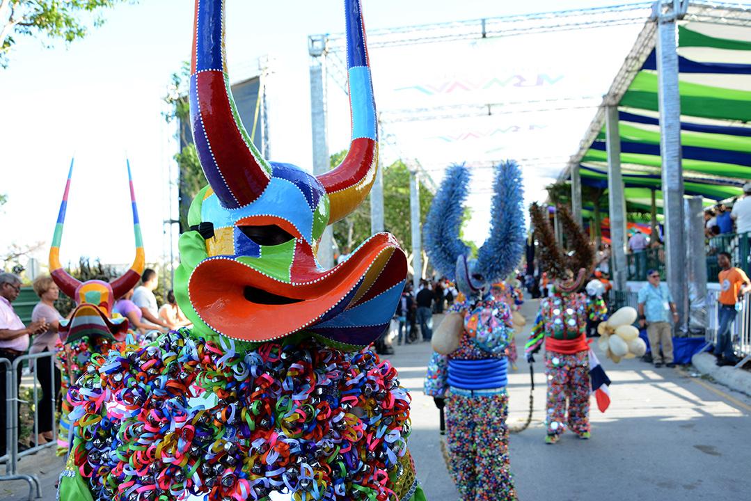Atracción turística con cultura del carnaval en Punta Cana