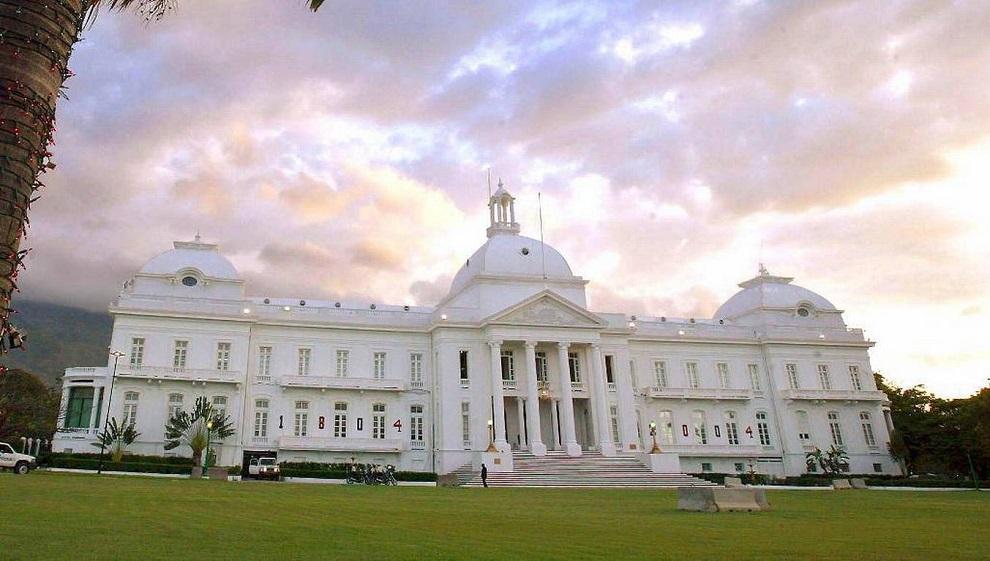casa de gobierno en haití