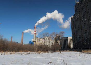 Planta de carbono en Harbin, Heilongjiang, China. | Muyu Xu, Reuters.
