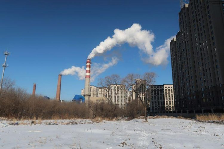 Planta de carbono en Harbin, Heilongjiang, China. | Muyu Xu, Reuters.