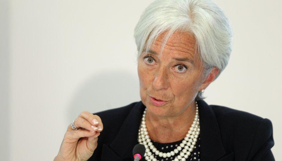 christine lagarde directora gerente del fmi
