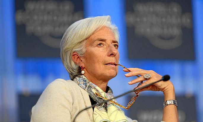 the global economic outlook: christine lagarde