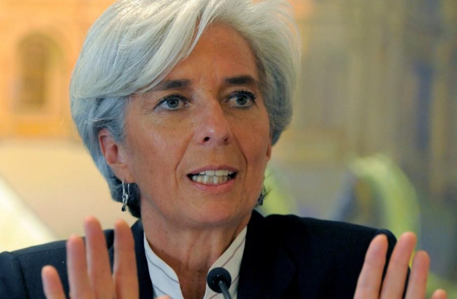 Christine Lagarde, directora gerente del FMI. / Fuente externa