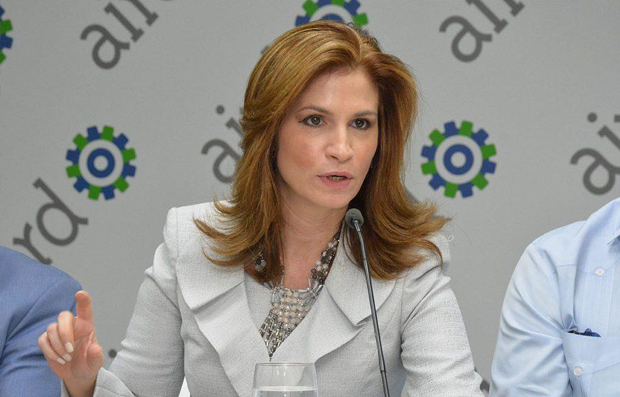 Circe Almánzar, vicepresidente ejecutiva de la AIRD. | Gabriel Alcántara