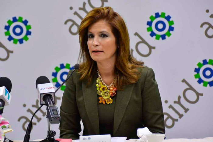 Circe Almánzar, vicepresidente ejecutiva de la AIRD.