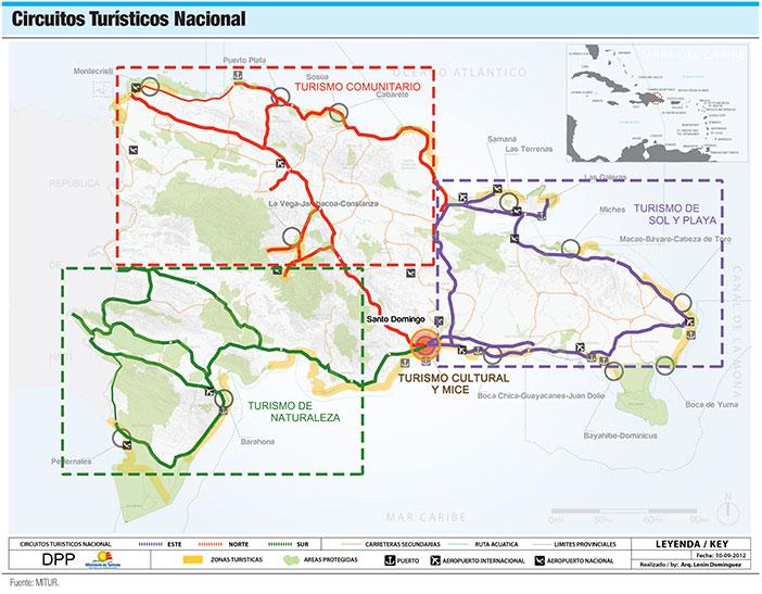 circuitos turisticos nacionales