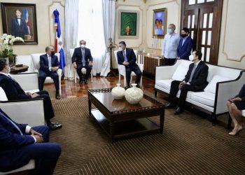 Conep visita a Danilo Medina