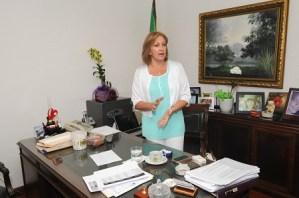 Constanza Cubisson, presidenta de la Casa del Conductor. | LÉSTHER ÁLVAREZ.