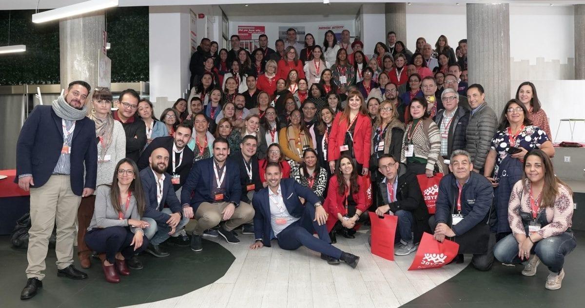 delegacion de rd con expositores y organizadores