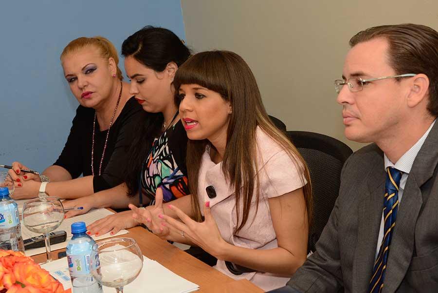 Conversatorio sobre desmonte arancelario del DR Cafta en 2016, en el Ministerio de Industria y Comercio. | Lésther Álvarez
