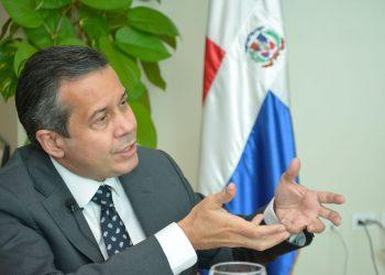 Orlando Jorge Mera, ministro de Medio Ambiente y Recursos Naturales. | Lésther Álvarez.