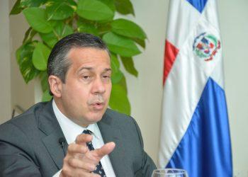 El ministro de Medio Ambiente y Recursos Naturales, Orlando Jorge Mera. |  Lésther Álvarez