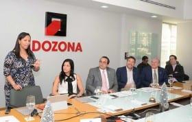 Comité ejecutivo de Zonas francas. José Tomás Contreras, Eduardo Bogaert y Miguel Lama, entre otros...