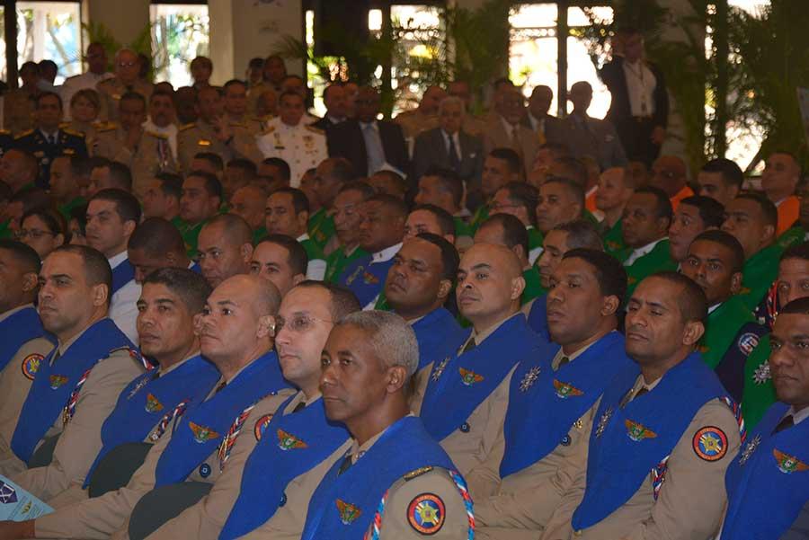 Gradúación de maestrantes del Estado Mayor, en la sede del Ministerio de Defensa./Lésther Álvarez