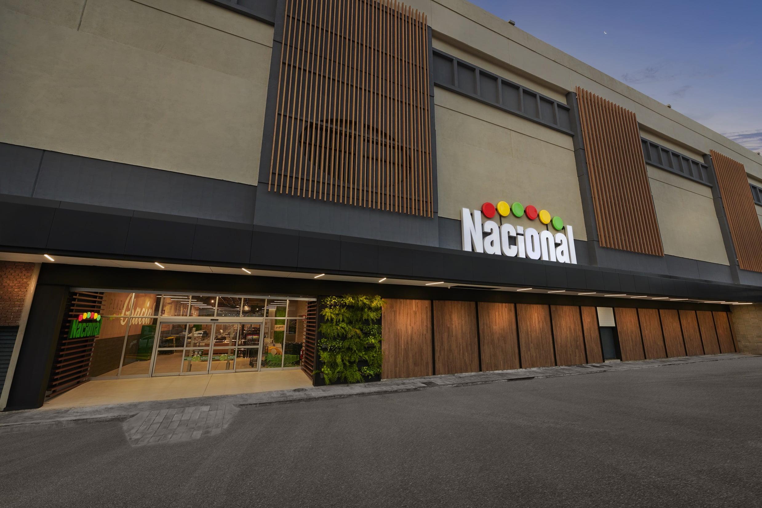 Supermercados Nacional fachada
