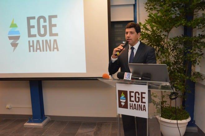 Marcelo Aicardi, gerente general de EGE Haina./ Gabriel Alcántara