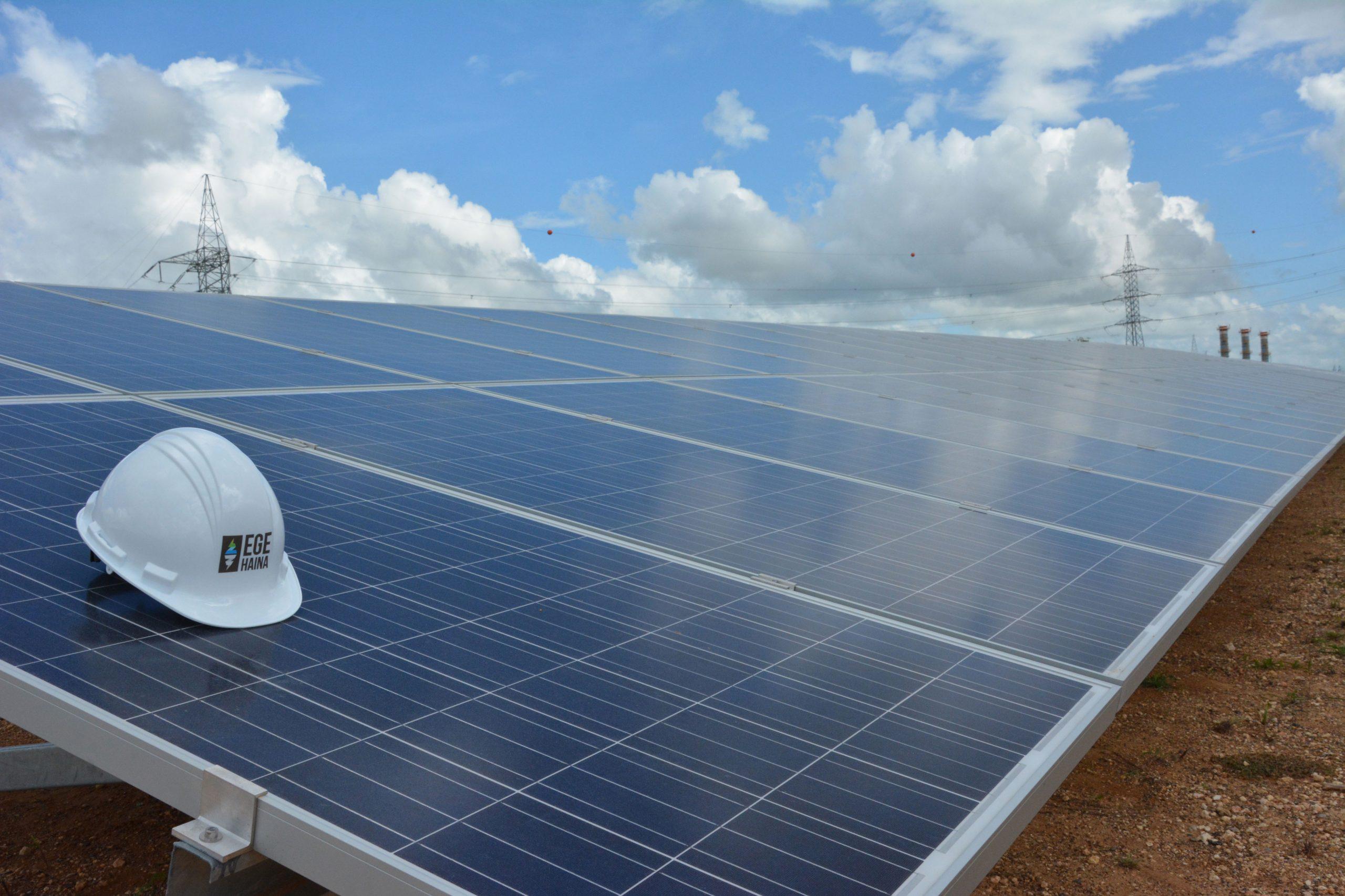 El parque de generación fotovoltaica puede suplir 1,000 viviendas rurales./ Gabriel Alcántara